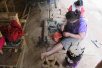 woman-weaving